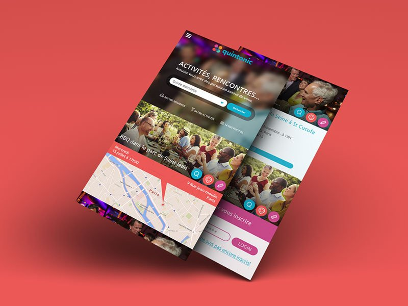 Application mobile Quintonic