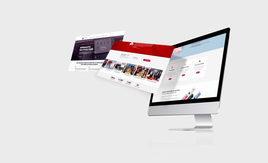 Site web Axium Solutions