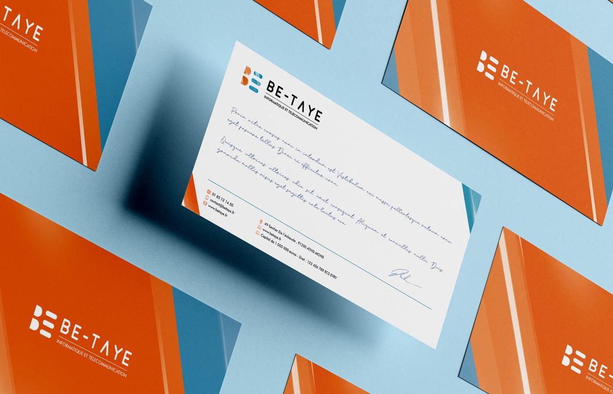 Carte de correspondance Be-Taye