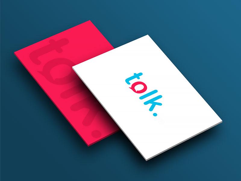 Logo Identit Visuelle Talk