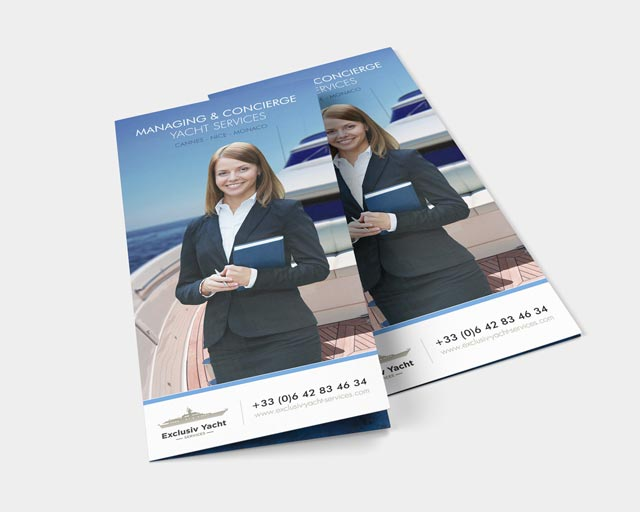 Exclusiv yacht services booklet