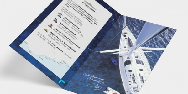 Exclusiv yacht services flyer