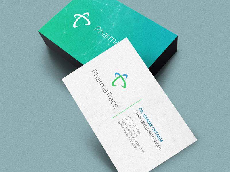 Creation logo PharmaTrace