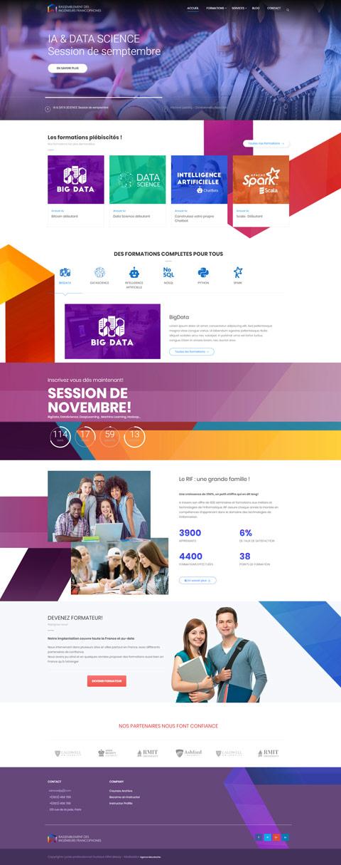 Site web du Rassemblement des ingénieurs Francophones RIF