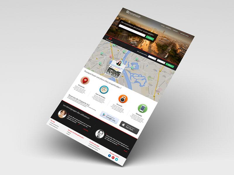 Refonte site web ParkingParticulier